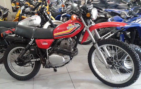 Motorcycle Honda XL 250 S