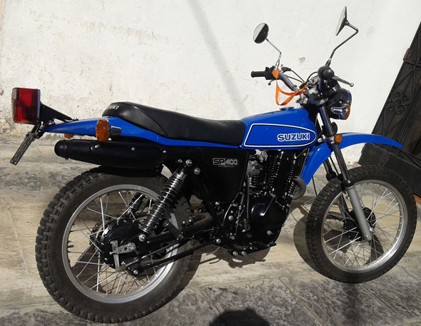 Motorcycle Suzuki SP 400