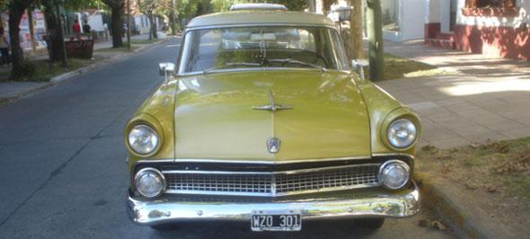 Car Ford Customline 1955