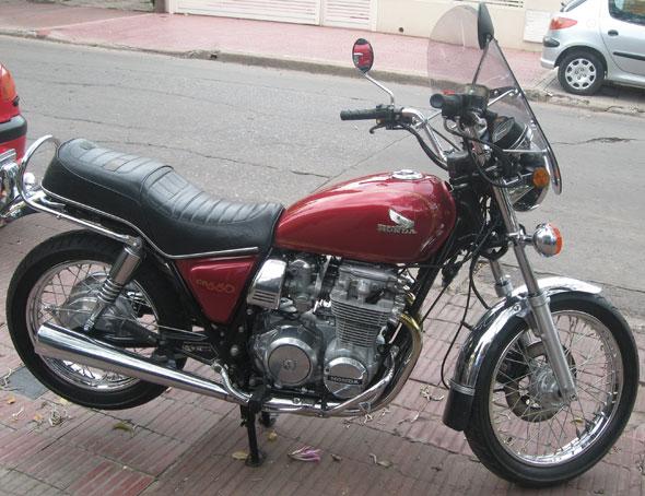 Moto Honda CB650 1980