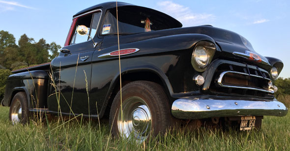 Car Chevrolet 1957 3100