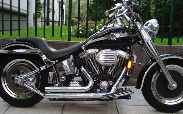 Car Harley Davidson Fat Boy 1340