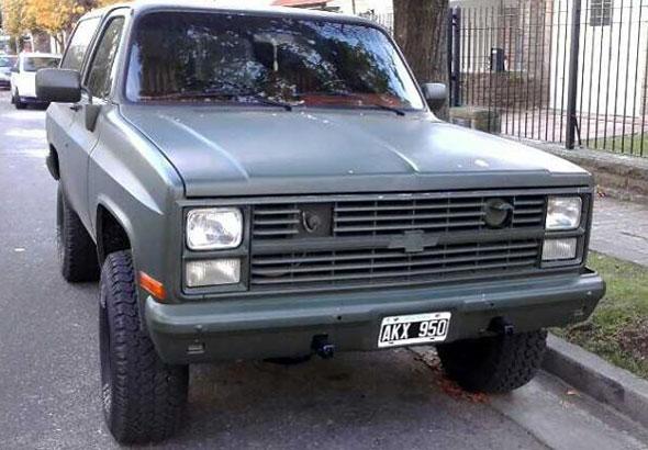 Car Chevrolet K5