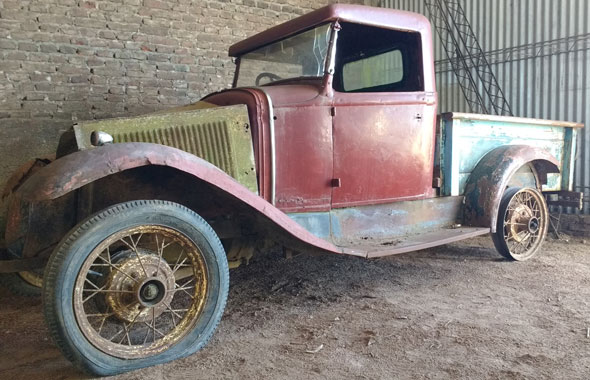 Car Ford A 1931 Pick Up