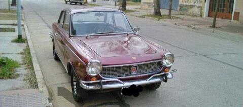 Auto Fiat 1500 Coupé 1969