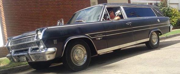 Car Rambler Ambassador