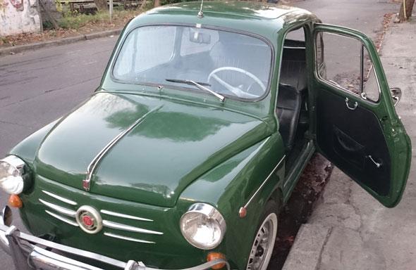 Auto Fiat 600D