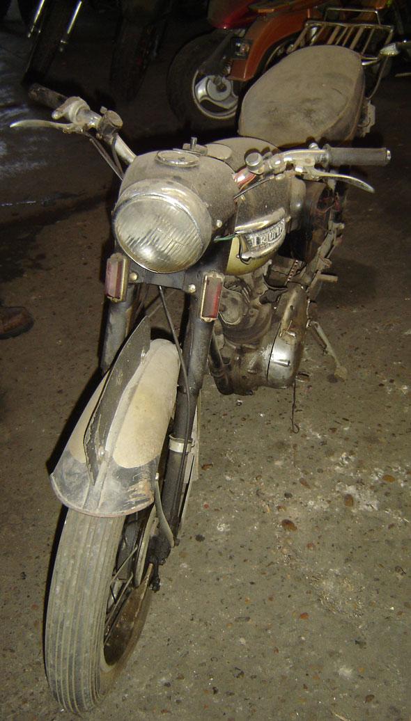 Moto Triumph Tiger T20