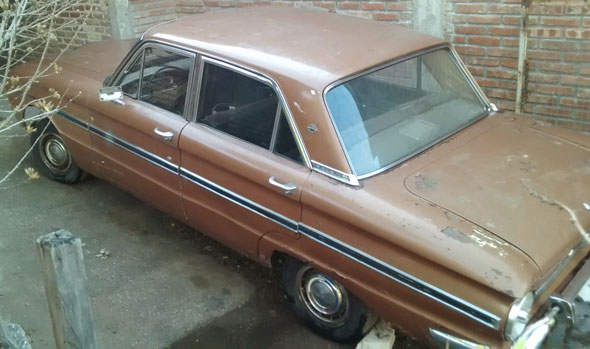 Car Ford Falcon 1967