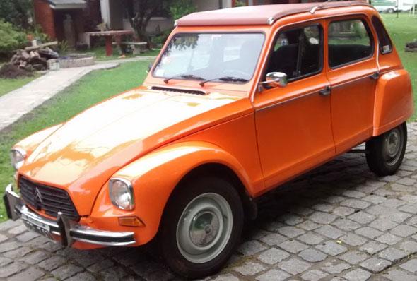 Auto Citroen Dyane 6