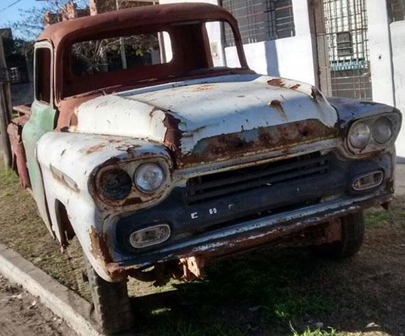 Car Chevrolet Viking 1958
