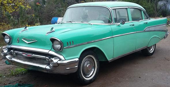 Car Chevrolet Belair 1957