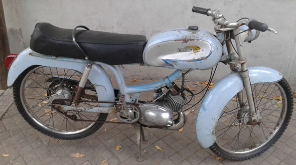 Motorcycle Peugeot 1950
