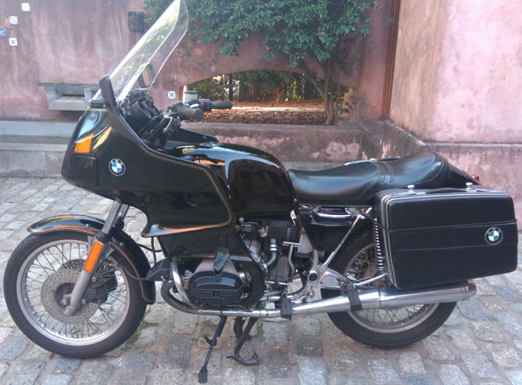 Motorcycle Bmw R 80 RT