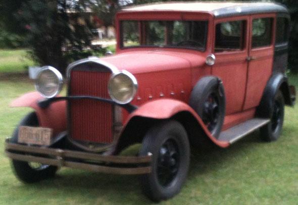 Car Hudson 1930