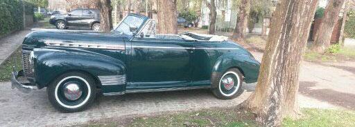 Auto Chevrolet 1941 Cabriolet De Luxe