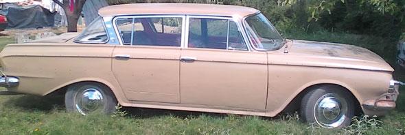 Car Rambler 1962