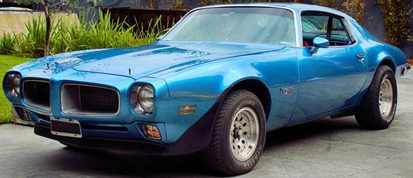Car Pontiac Firebird
