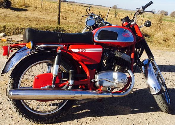 Motorcycle Jawa 350 634-5