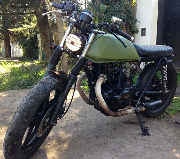 Motorcycle Honda CB 400N