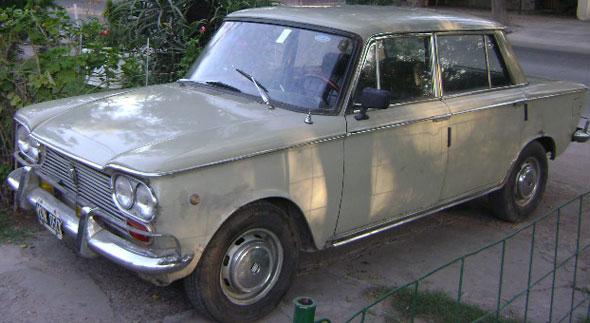 Car Fiat 1966