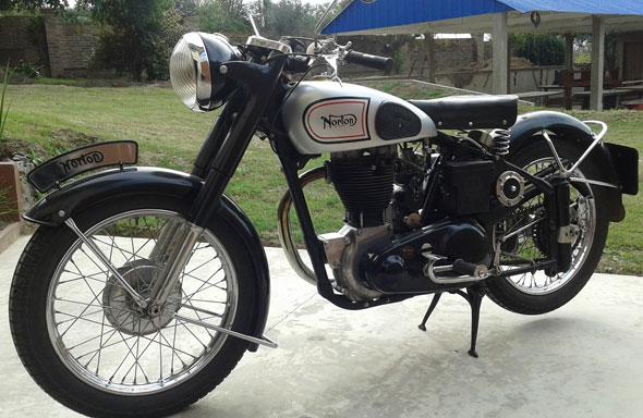 Moto Norton 500 ES2 1948