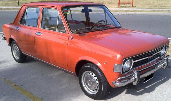 Car Fiat 128-A