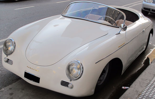 Car Porsche 356 Speedster
