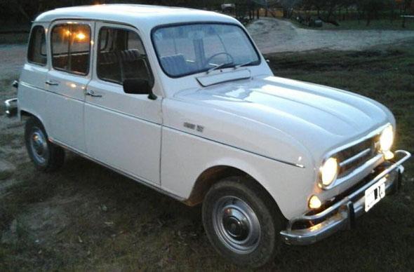 Auto Renault 4 S 1972