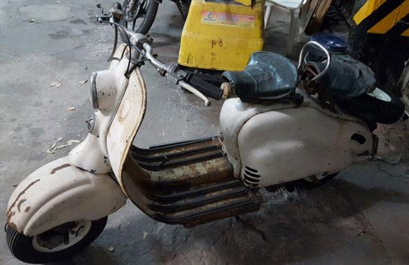 Siambreta 125 De Lujo Motorcycle