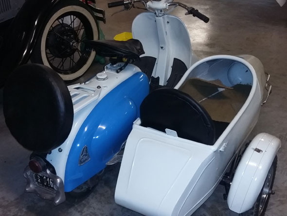 Motorcycle ISO Sidercar