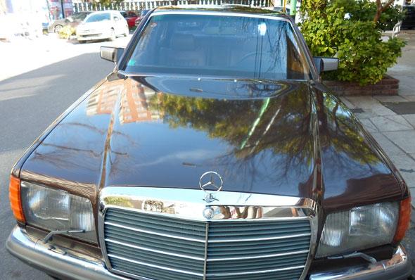 Auto Mercedes Benz 280 SEL 1981