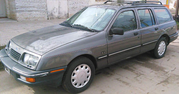Car Ford Sierra Rural Ghia
