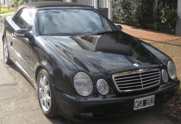 Car Mercedes Benz CLK 430