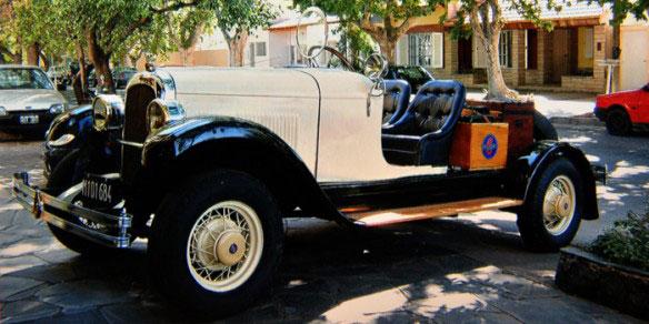 Auto Overland 1928 Baquet