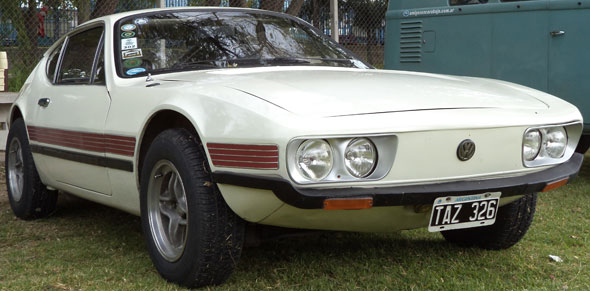 Car Volkswagen SP2