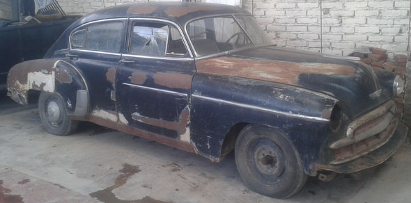Car Chevrolet 1949