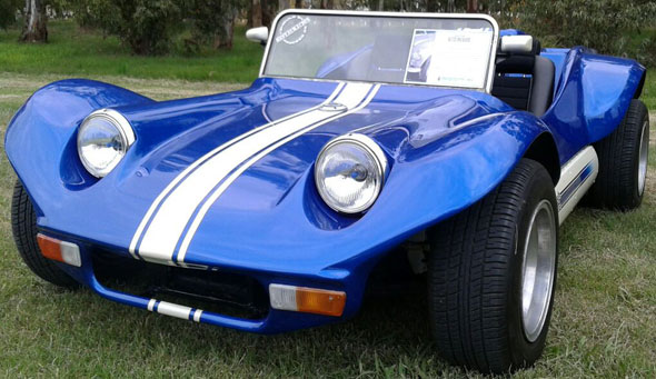 Car Bugetta 1973
