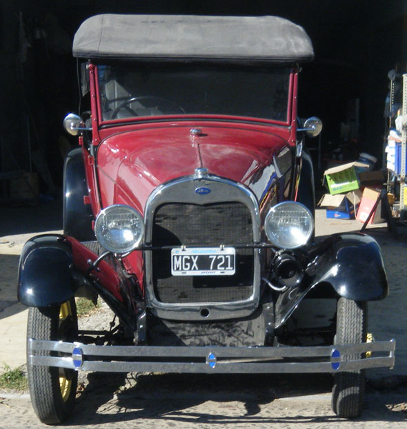 Auto Ford A 1928