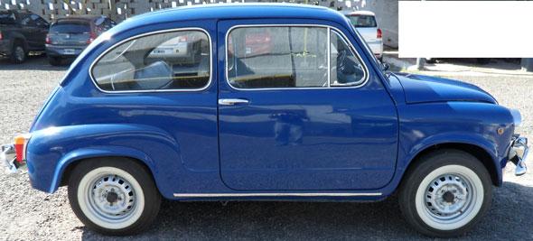 Car Fiat 600 1977