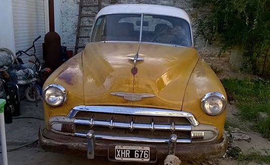 Car Chevrolet 1951 Sedán
