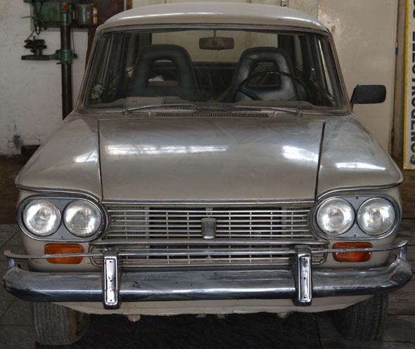 Car Fiat 1500 Familiar 1966