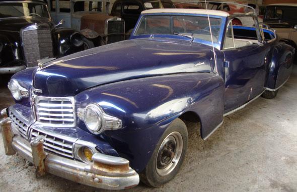 Auto Lincoln Continental 1946