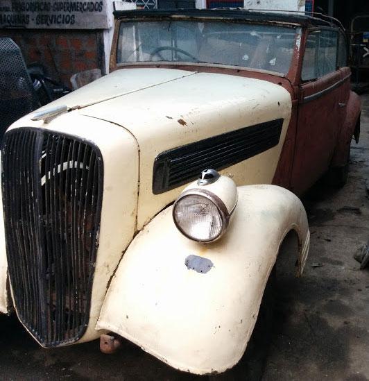Auto Opel 1937 Super Six