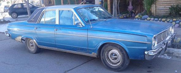 Auto Valiant 1968