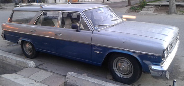 Auto Rambler 1968