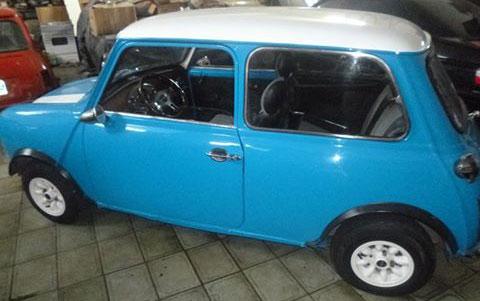 Car Mini Cooper 1980
