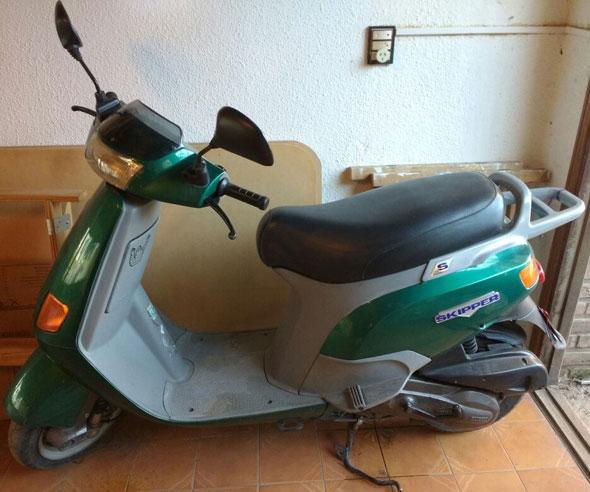 Motorcycle Piaggio Skipper 150