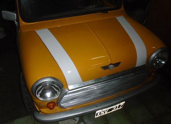 Auto Austin Morris Mini 1980