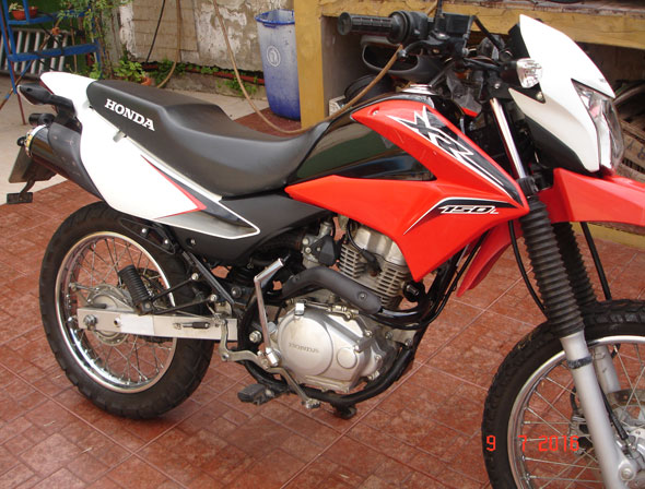 Car Honda XR150